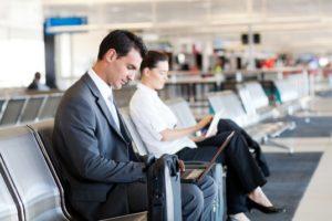 Wifi miễn phí ở các sân bay được khá nhiều người sử dụng