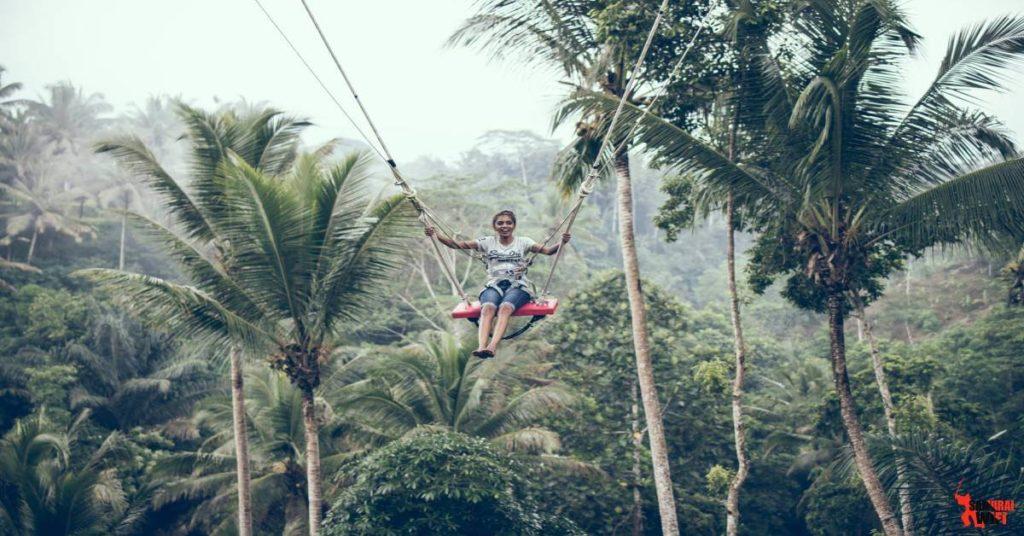 Du lịch Bali cùng thiết bị phát wifi di động samurai