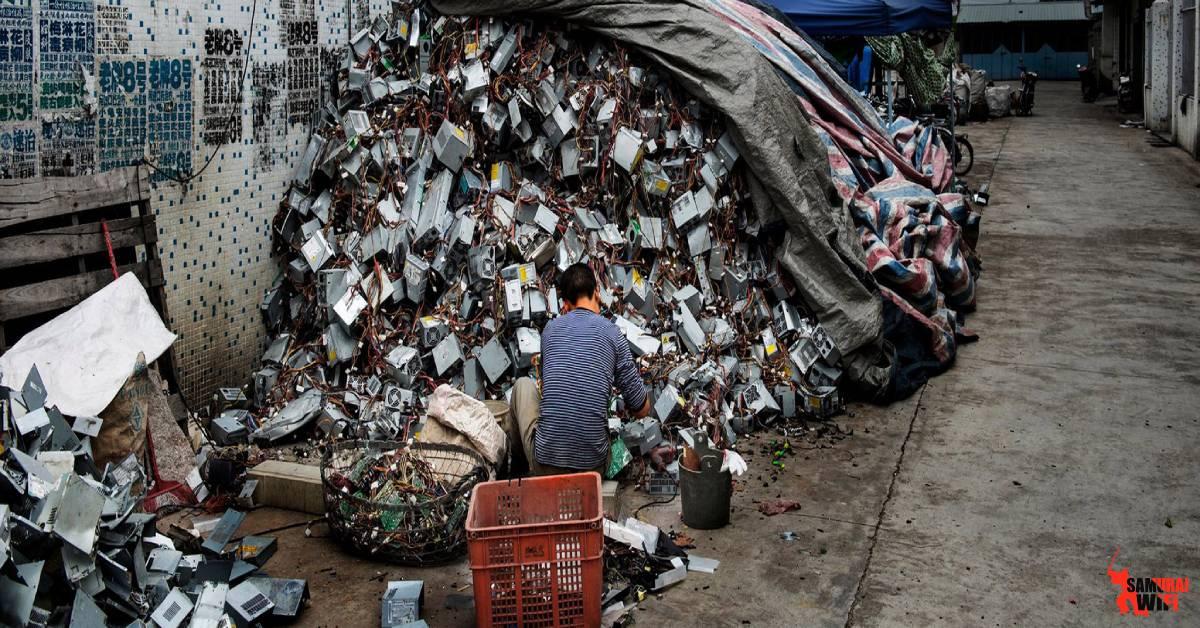 Tác hại sim rác đến môi trường