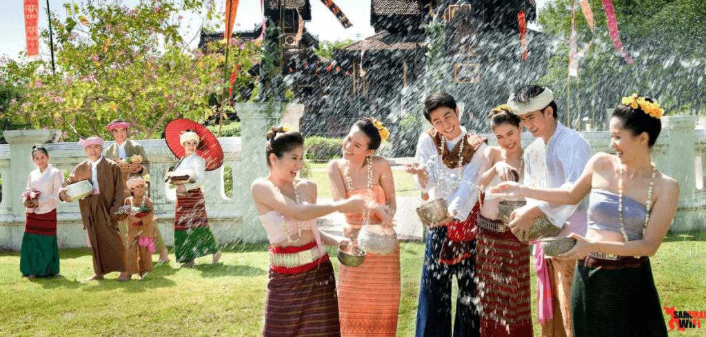 Cuộc sống an yên, hạnh phúc của người Lào.