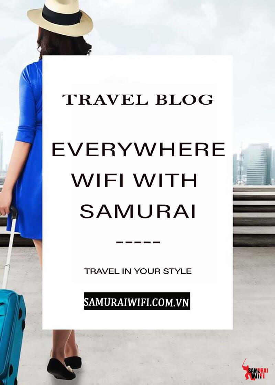 Samurai wifi cũng bạn đi muôn nơi