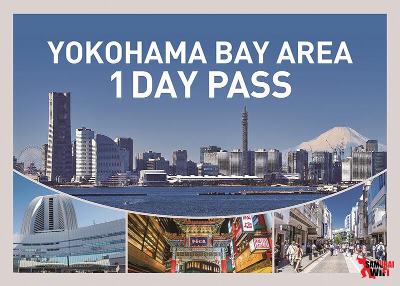 YOKOHAMA BAY AREA 1 DAY PASS