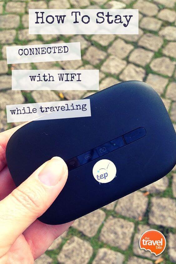 Cách sử dụng wifi nước ngoài