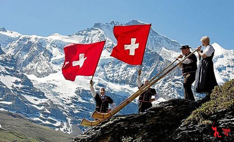 Cảnh quan thiên nhiên Thụy Sĩ