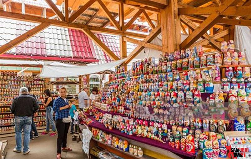 Chợ truyền thống Nga