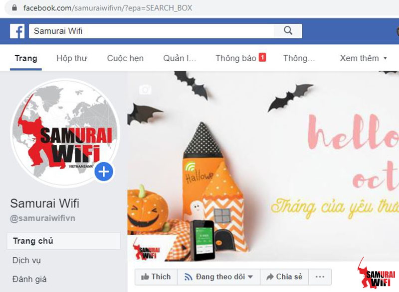 Facebook samurai wifi