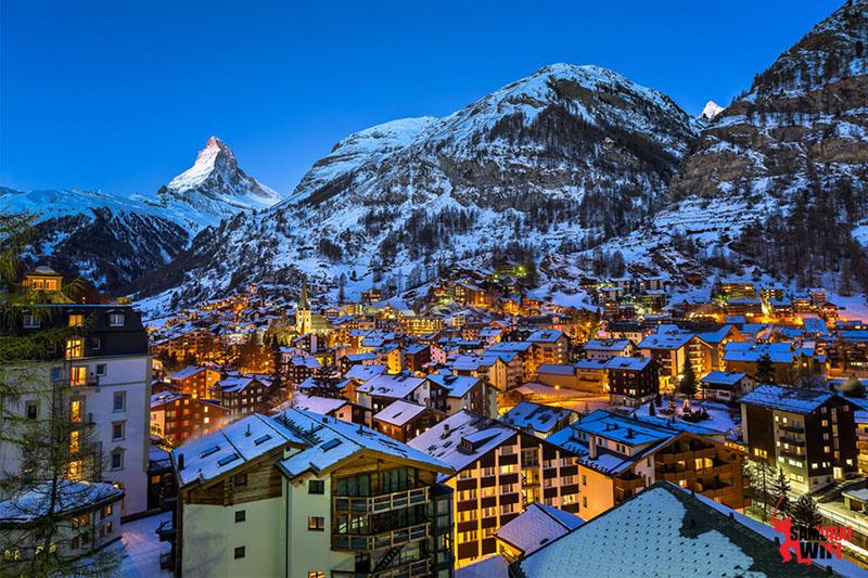 Làng Zermatt du lịch Thụy Sĩ