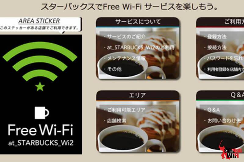 Starbucks mua wifi du lịch