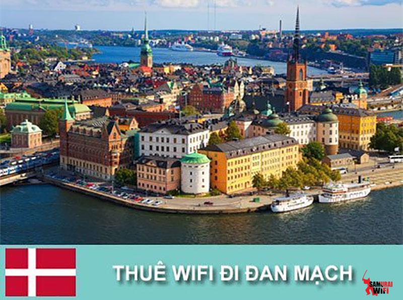Wifi du lịch Đan Mạch