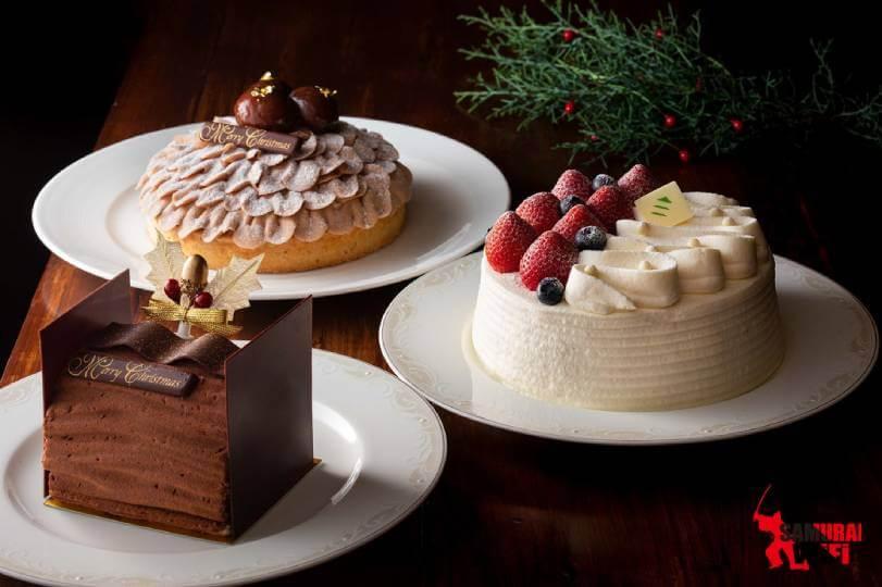 Bánh kem dâu tây Noel 2019