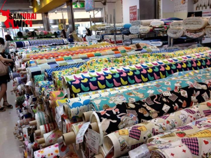 Chợ vải Nippori