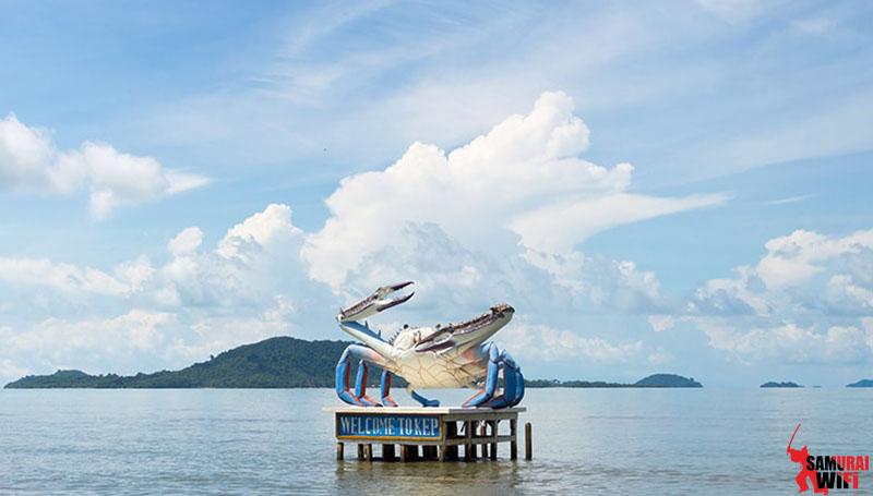 Du lịch biển Kep Campuchia