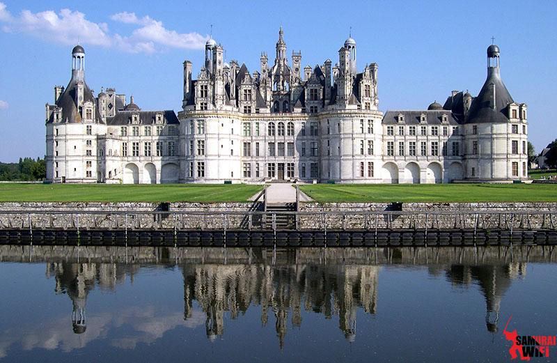Lâu đài cổ Pháp