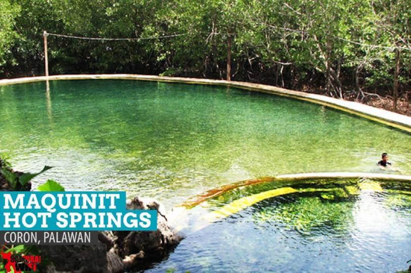 Suối nước nóng Maquinit - Philipine