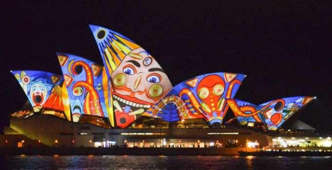 Đón năm mới sắc màu Úc