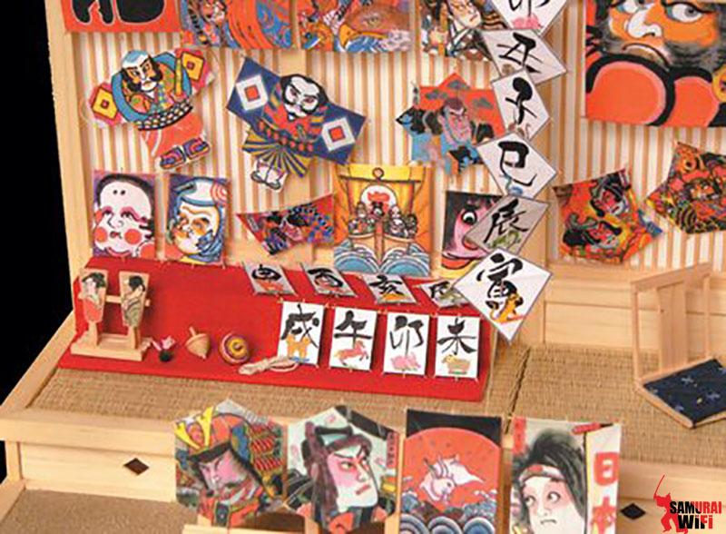 Trang trí ngày tết Nhật