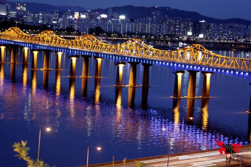 Bên bờ sông Hàn về đêm