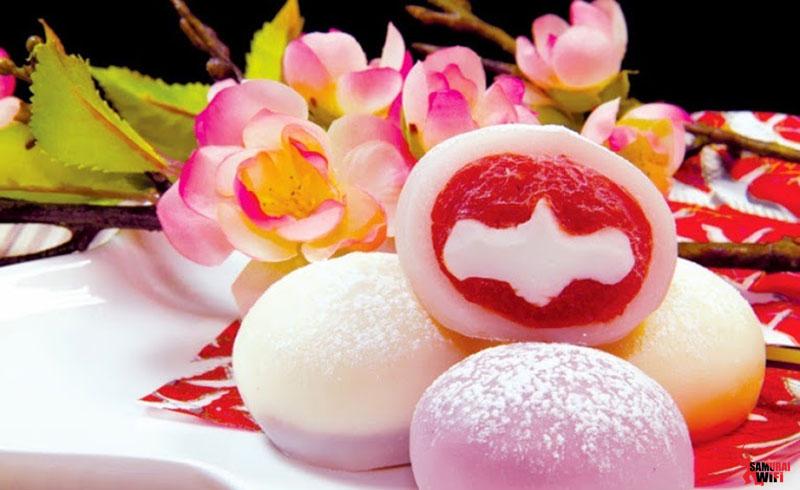 Mochi món bánh nổi tiếng Nhật Bản