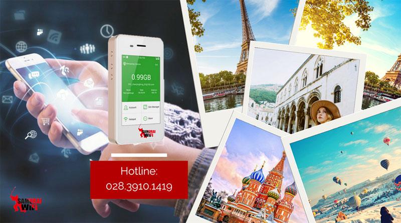 Thuê wifi du lịch Châu Âu