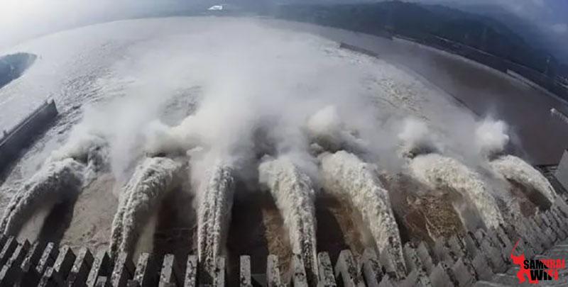 Đập Tam Hiệp Trung Quốc ngập nước